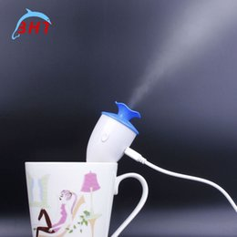 Wholesale NEW Original Design Hot Saling Creative USB Mini Air Humidifier Purifier Office Flower Aromatherapy Aroma Diffuser Housing Water Mist Maker
