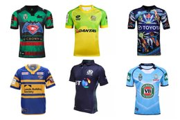 Wholesale 2016 Rugby Jerseys Best Quality scotland Hurricanes Leeds Rhinos HIGHLANDERS America USA rugby shirt Jerseys S XXL size