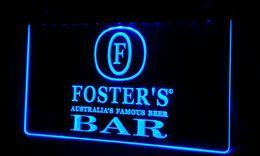 LS480-b Foster Beer Bar Neon Light Sign