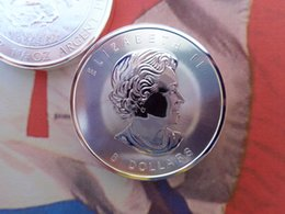 Wholesale Canada Royal Canadian Mint RCM Dollars Oz Troy Oz Fine Silver Canadian Bison Coin Round Bullion