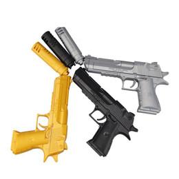 Wholesale Hot sale kid toy educational building blocks gun model building kits assembling pistol Desert Eagle child assembled bricks
