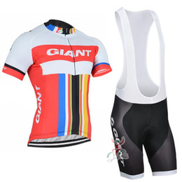 2016 Giant New Fluo Vintage Cycling Jersey Suit Ropa Ciclismo Bicycle Clothing Mountain MTB Bike Cycling Clothes Maillot Ciclismo