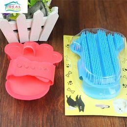 Wholesale Foot Shape Pet Massage Bath Brush Pet Supplies Cat Dog Beauty Comfortabale Comb High Quality Hot Sale