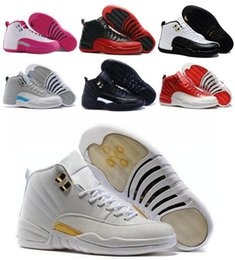 Top Retro 12 XII Basketball Shoes Sneakers Men Women Taxi Playoffs Replicas Gamma White Gray Retros Shoes Sports Shoes