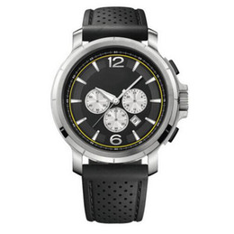 Black Dial Chronograph Watch QUARTZ WRISTWATCHES HB1512455