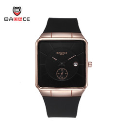 Wholesale New Luxury watches Badace with colors PU Glue band sports Good Gift Quartz watch