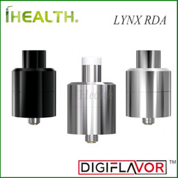 Wholesale Digiflavor LYNX RDA ml Capacity Spring Loaded Clamps Switchable Taste Cloud Mode Bottom Side Airflow Original