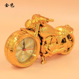 Wholesale Retro Home Decoration Creative Crafts Motorcycle Model Alarm clocks Piece By DHL