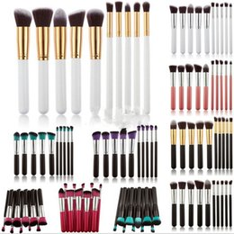 Wholesale 2016 Wooden Makeup Brushes Set And Kits Exquiste Antibacterial Nylon Wool Tools Accessories Real Techniques Health Beauty Star