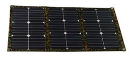 54 Ватт бескаркасных Ткань Портативный складной солнечной панели комплект зарядное устройство для 12V батарея для RV Camper Караван от Производители р.в. комплекты солнечных панелей