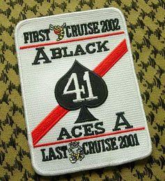 Wholesale US Navy Aviation VF Black Ace Black Aces squadron aircraft conversion commemorative badge