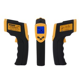 Wholesale Infrared IR Thermometer Pyrometer Laser Point Temperature Meter No Contact Digital LCD Display H1779