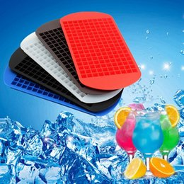Wholesale New Safety Ice Cubes Mini Cube Pudding Silicone Tray Mould Tool silicone ice cube Dishwasher safe