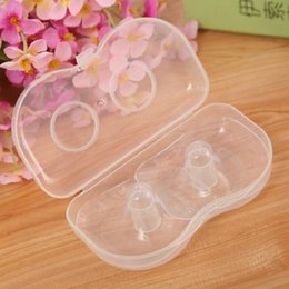 Wholesale 2 Set Soft Silicon Nipple Shields Nipple Protection Cover Breastfeeding Mother Milk Shield Breast feeding for Baby Brand New