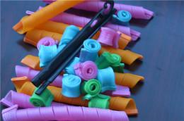 Wholesale DIY Magic Hair Curlers Super Small Waves Rollers Magic Leverag hair Rollers Magic Circle Hair Styling Rollers Hair Curlers Styling Tools