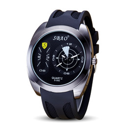 2017 new fashion Geneva men's silicone watch small three-pin three night sports men and women universal quartz watch