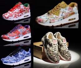 Wholesale Originals Air TKO Max Ultra Floral City Flower Women Casual Running Shoes Max Men Outdoor Sports Sneakers with Originals Box