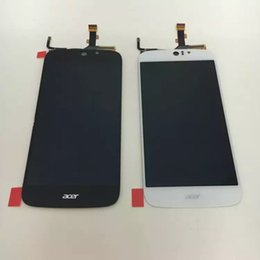 Wholesale 100 new LCD Screen display touch Digitizer For Acer Liquid Jade Z S57 white or black color