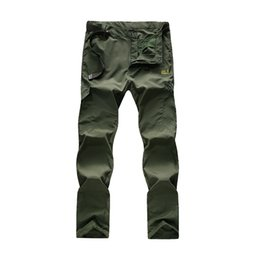 Wholesale high quality quick drying pants Jacking brand men Camping Hiking outdoor Wolfskins