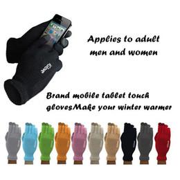 Promotion écran tactile google Unisexe iGlove gants écran tactile capacitif pour homme femmes gants multi-usages hiver chaud pour iphone 6 6s 7 plus ipad google pixel XLo