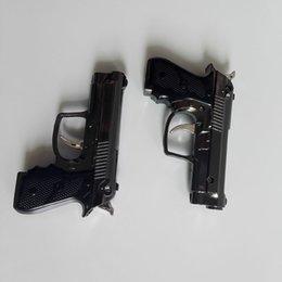 Wholesale Best Selling Portable Luxury Mini Gun Shaped Butane Flame Gas Cigarette Torch Lighter VS USB Oil windproof Lighter