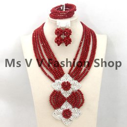 wedding jewelry sets latest design saudi gold jewelry necklace Sets African Beads Collar Statement Women Wedding Party gift