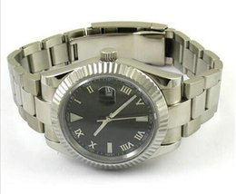 Luxury Watch Fashion watch 40mm MAN wristwatch Black Dial Sapphire Glass Automatic Watch