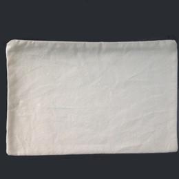 (100pcs lot)plain natural light ivory color pure cotton canvas coin purse with black zipper unisex casual wallet blank cotton pouch