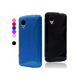 Ultra delgado S línea de plástico suave funda de silicona cubierta suave para LG Nexus 5 D820 desde plástico nexo fabricantes