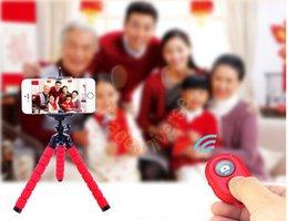 Titular trípode flexible del pulpo soporte del soporte de montaje de cámara digital para Iphone Monopod 6s 6s más borde Samsung S6 S7 S7 desde soportes de cámaras digitales fabricantes