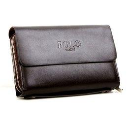 Wholesale Men s handbags big wallet high quality Artificial leather zipper big size business bag briefcase card cigarette key long wallet