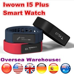Ship from Spain Iwown I5 Plus Smart Watch reloj inteligente Bracelet Bluetooth Wristband Sports Watch For Android IOS