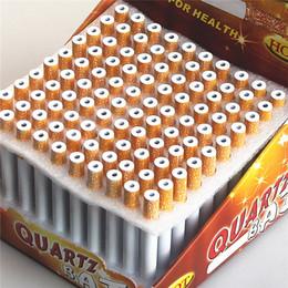 Wholesale Cigarette Bat Metal One Hitter Pipe Bat Box mm m Length One Hitter Pipes Cigarette Bat Aluminum Metal Pipes For Smoking