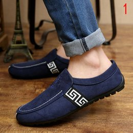 Wholesale 2015 Summer mens logo shoes casual shoes slip on Korean breathable shoes