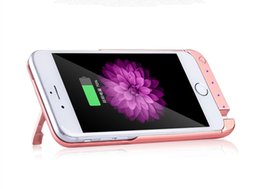 Wholesale 1 mAh inch Rechargeable Backup External Battery Charger Case Power Bank Shockproof Protective Cover for iPhone s plus