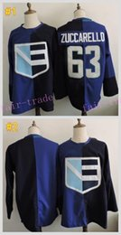 Wholesale Team Europe Mats Zuccarello Blue World Cup Cheap Hockey Jerseys Ice Winter Jersey All Stitched Size