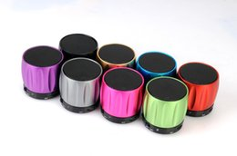 Wholesale 2016 Aurora S series Stereo Speaker Subwoofers Mini Portable Wireless Bluetooth S13 Speakers Loudspeakers Sound Free DHL
