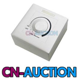 ! LED Dimmer 12 touches Télécommande AC 110V / 220V haute tension Interrupteur Mural Variateur pour Lampe LED (CN-LD2501) à partir de haute tension gradateur fabricateur