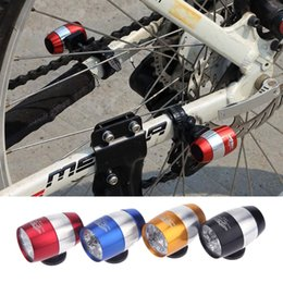 Wholesale Aluminium Alloy Ultra Bright LED Bicycle Bike Front White Head Light Mini Safety Cycling Lamp Flashlight Modes Waterproof H12188