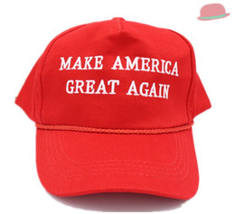 Wholesale Make America Great Again Hat Donald Trump Hat Republican Adjustable Embroidery Cap Hot Best Sellers usa America Vote Trump