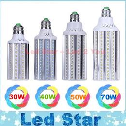 E27 ce smd en Ligne-E27 E26 E39 E40 LED de maïs Ampoules Lampe SMD 2835 30W 40W 50W 70W LED Lights Lumières de jardin AC 100-277V CE ROHS UL
