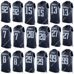 Wholesale New Cheap Men Tennessee Murray Casey Pitoitua Mariota Sankey Geogre Wright Hunter Jerseys Football Jerseys