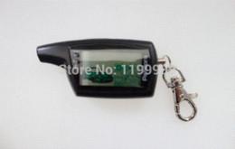 Descuento sistema de alarma a distancia un coche Sistema de alarma del coche de Pandora DXL3000 del envío libre Sistema de alarma teledirigido de dos vías del regulador del arrancador del arrancador del arranque de cinta de la versión rusa