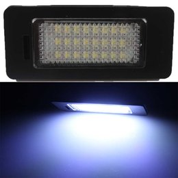 2X Error Free 24 SMD LED License Plate Light Lamp For VW Golf 7 Jetta Sharan 7N