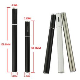 Wholesale Newest Disposable BBtank E cigarettes CBD Oil Pen BB Tank Vaporizer T1 CO2 Cartridge puffs Electronic Cigarettes