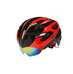 Wholesale Cycling helmet Cycling helmet MTB Mountain Bike Helmet ventilation otverstiyas points interchangeable lens g size cm