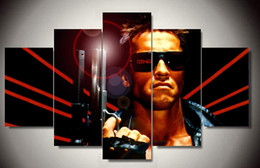 Framed Printed Terminator movie Group Painting children's room decor print poster picture canvas Free shipping F 499
