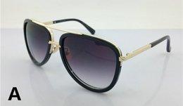 Dia Mach Two Vintage Sunglasses Women Sun Glasses Brand Designer Oversize Metal Frame Women Sunglass Men Classic Aviation 2301