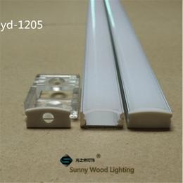 Wholesale 10set m led aluminium profile for led bar light led strip aluminum channel waterproof aluminum housing YD