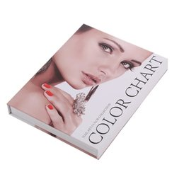 Wholesale Excellent Product For Profashion Salon Nail Store Gel Color Display Tool colors Nail Gel Card Book